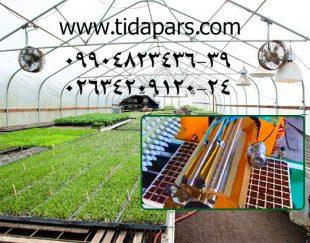 ماشین های گلخانه تیدا-ماشین کاشت بذر در سینی نشاء